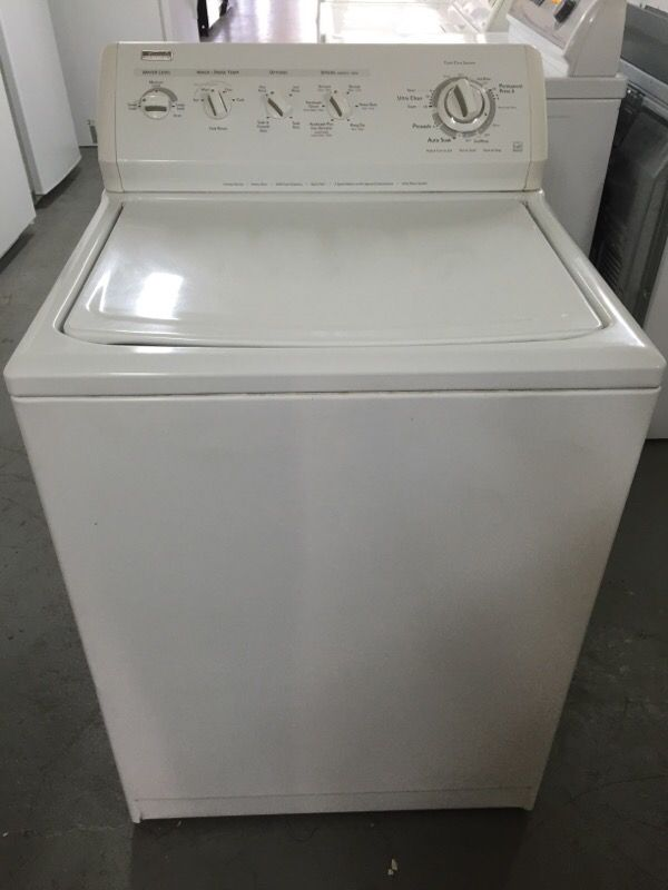 Kenmore Elite Top Load Washer Appliances In Hollister Ca