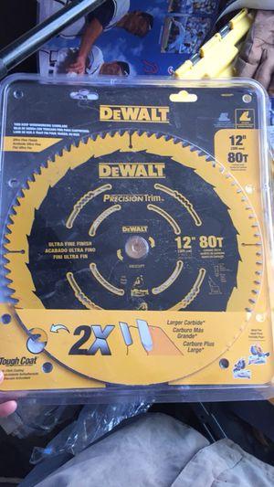 "DeWalt 12"" 80t"