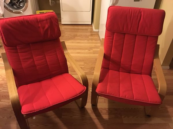 Relaxing IKEA chairs - $10 for the set