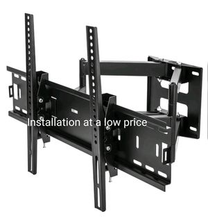 "Tv wall mount universal full motion 30"" to 70"" INSTALLATION AT A LOW PRICE"