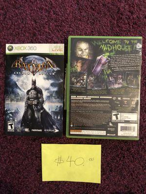 Xbox360 Batman