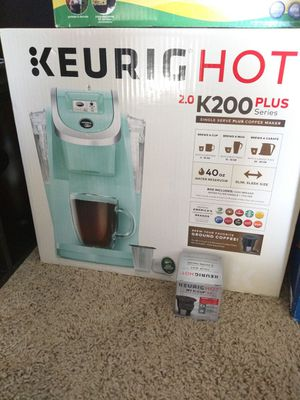 Keurig k200 plus with reusable filter