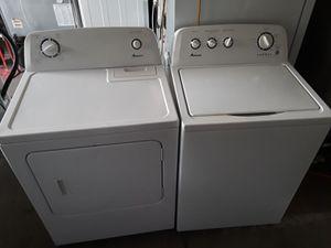 Amana washer and dry set