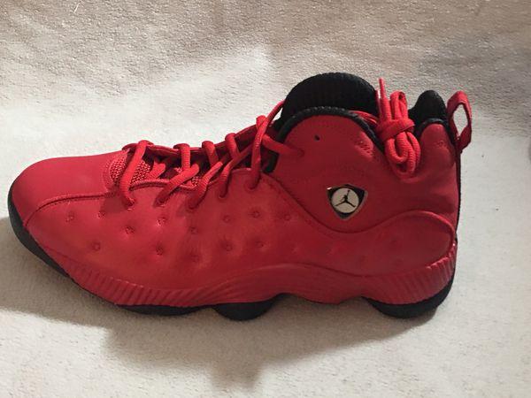Nike Air Jordan Jumpman Team II Gym Red/ Black 819175-602 NEW Men's Size 11