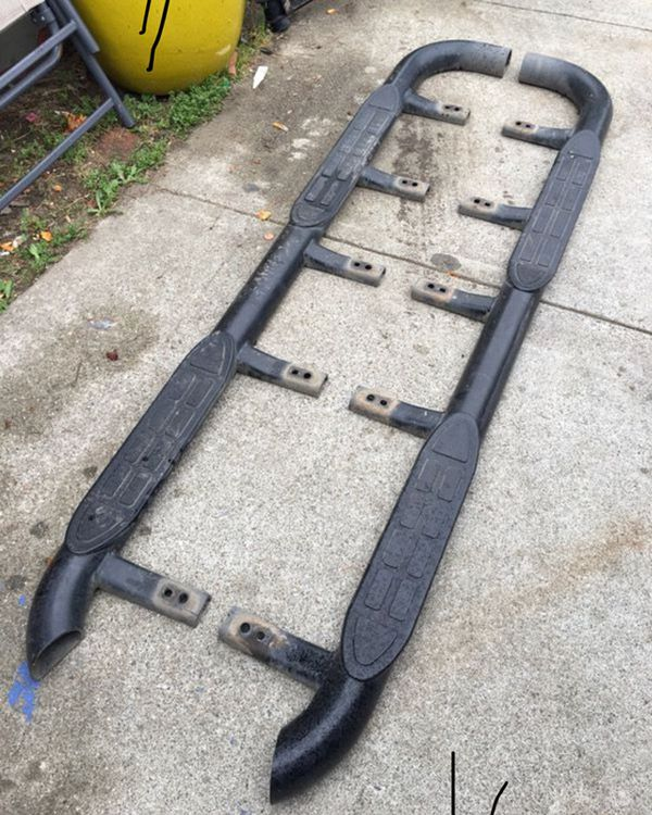 2000 2006 Chevy Tahoe Z71 Side Steps Running Boards Auto