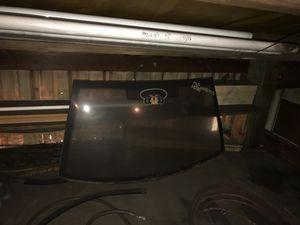 Rear window for a 4 door Jetta