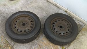 2 tires 205 65R15 $25 or best offer
