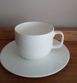 Hotel Collection Bone China 4 Piece Cup/Saucer Set