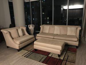 Bernhardt sofa set