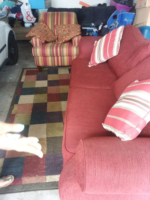 Couch chair area rug (Furniture) in El Cajon, CA - OfferUp