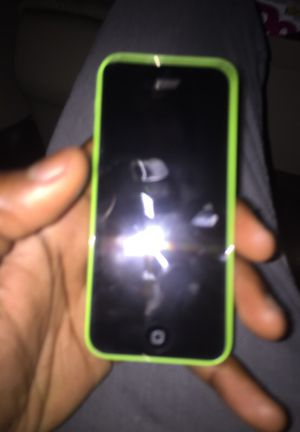 Green IPhone 5c unlock