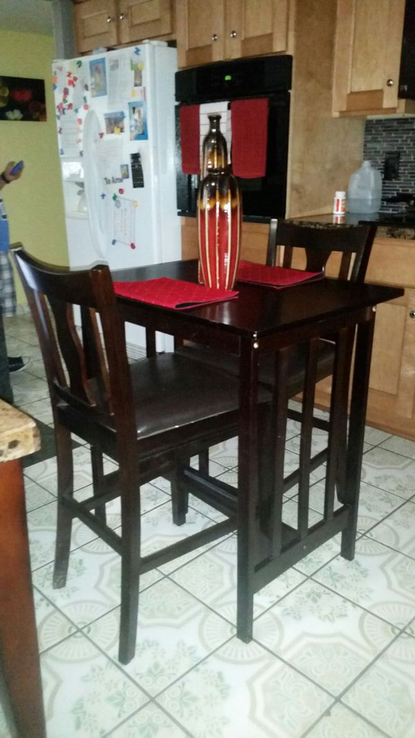 3 piece pub table set furniture in phoenix az offerup for Furniture 85050