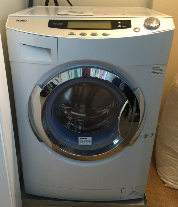 Haier 1 8 Cu Ft Combination Washer And Ventless Dryer