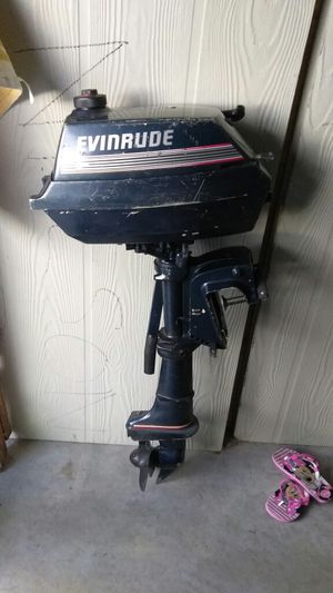 3hp 1990 Evinrude outboard motor