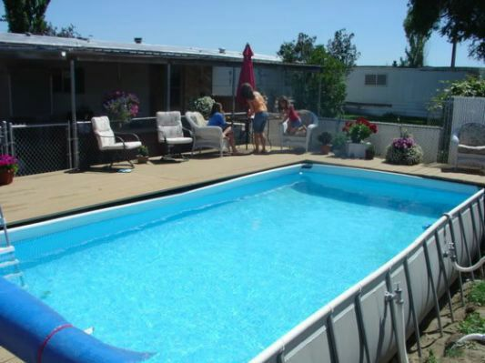 pool intex 24x12x52 ultra frame pool household in romeoville il. Black Bedroom Furniture Sets. Home Design Ideas