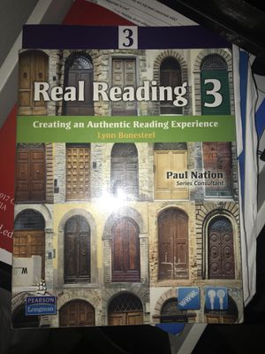 Real reading third edition esl book