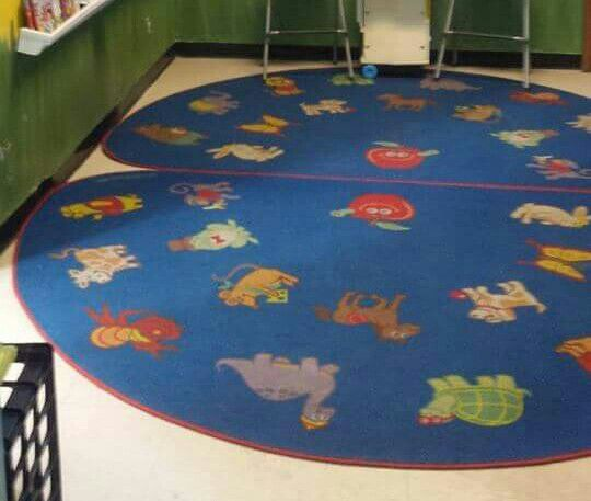 Two Lakeshore Daycare Rugs Available $60 Each (Baby & Kids