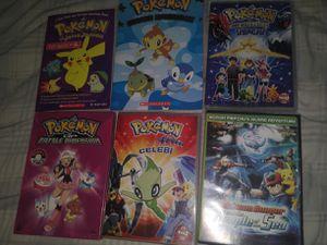 Pokemon Movies and Books