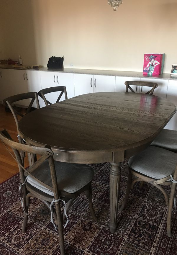Wood Dining Room Table Renovation Hardware Furniture In Brooklyn NY