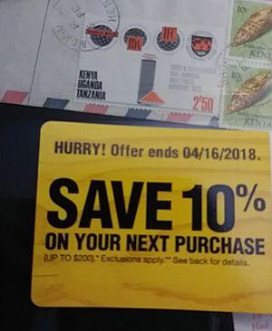 Home depot save 10% coupon