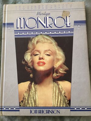 Collectors item .. 1982 Marilyn Monroe.. The screen great book