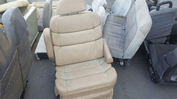 Conversion Van SINGLE SEAT TAN LEATHER EXTRA LARGE