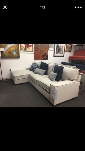 New Ashley sectional on sale