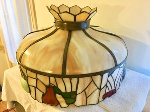 Beautiful Vintage Tiffany Style Ceiling Lamp Shade
