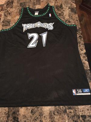 Authentic Reebok Timberwolves BlackJersey (KevinGarnett21)