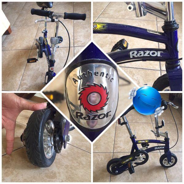 Razor Punk 180 Mini Bike Clown Bike Excellent Condition Rare