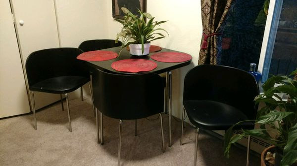 Kitchen table four chairs antiques in bellingham wa offerup kitchen table four chairs workwithnaturefo