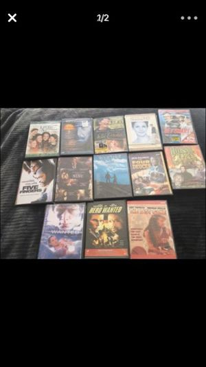 All for one price... New and old DVD tapes 36 DVDS total for $25