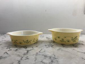 Vintage Shenandoah Pyrex Casserole Dishes (1980s)