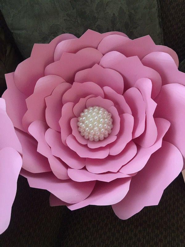 Flores gigantes de papel para decorar (General) in Dallas ...