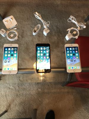 Sold seperate 2 unlocked iphone 6S plus rose gold and 1 ipod touch 128gb