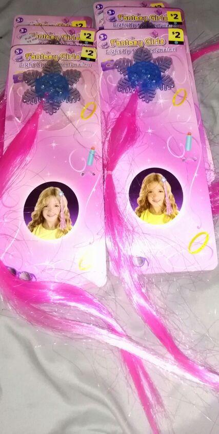 Brand New Fancy Girl Light Up Hair Extension Games Toys In Omaha Ne