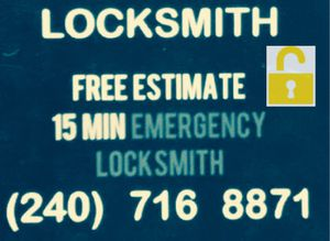Locksmith/ emergency 24/7