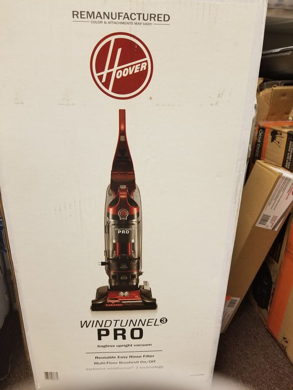 Hoover windtunnel pro bagless upright vacuum Household in Tulsa