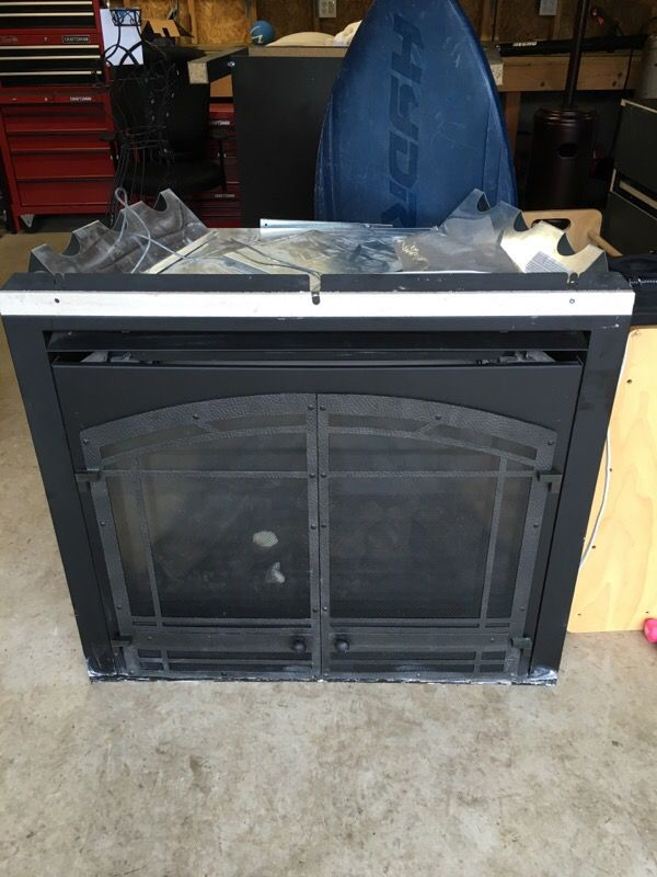 Village Collection gas fireplace insert (Household) in Puyallup ...