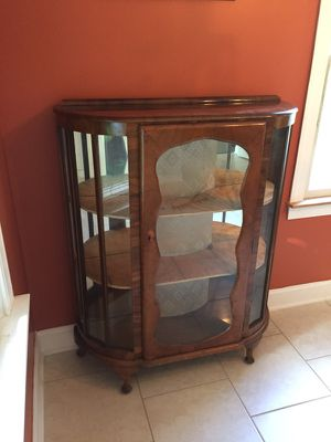 China Curio Cabinet French Provincial