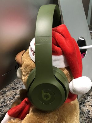 Original Beats by Dre Beats Solo 3 Wireless Turf Green