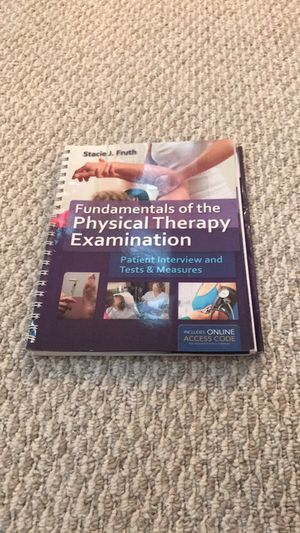 Never been used-Fundamentals of the Physical Therapy Examination book!