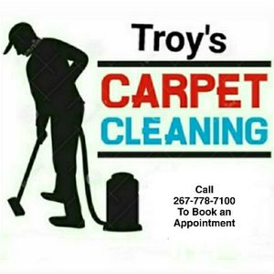 Troy's Carpet and Upholstery Cleaning!