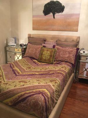 Queen/king complete bed set