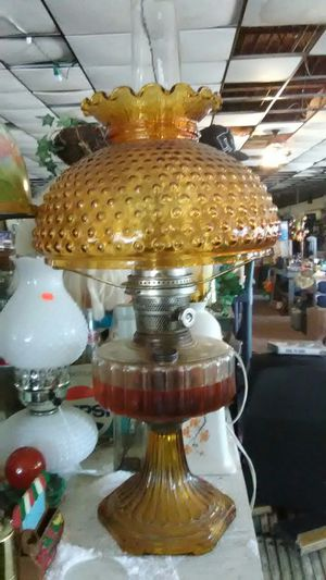 Old gas lamp