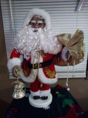 Christmas Decoration Animated Santa