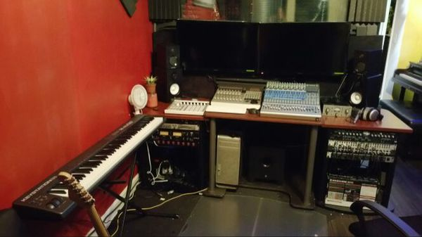 Professional Recording Studio Equipment And Furniture