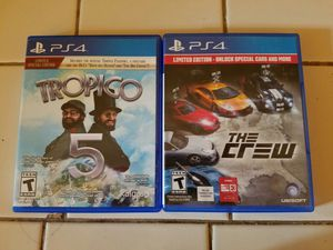 2 ps4 games for 25$ price firm.