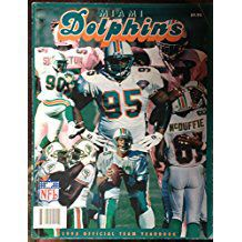 1995 Miami Dolphins Official Team Yearbook