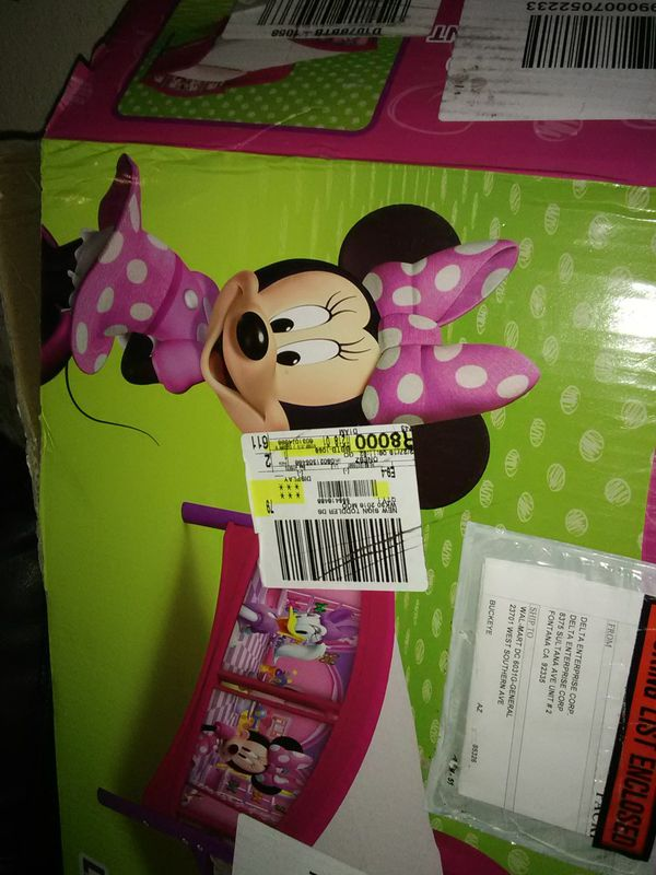 New Minnie Mouse Toddler Bed In Box Is Damaged Not Product 2 Safe Sleep Rails Only 30 Great Deal Compare At 65 18m Up Or To 50